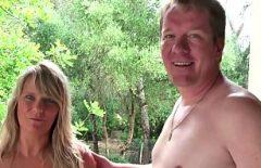 Cuplu de amatori nemti maturi se fut la cabana